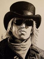 Tom Petty by ratgirl84