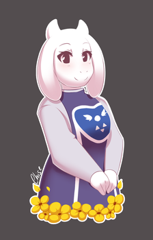 -:: Toriel ::- by ReSuKu