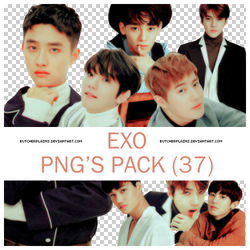 EXO - png's pack #01 by butcherplains