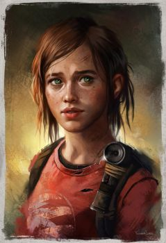 Ellie by fdasuarez