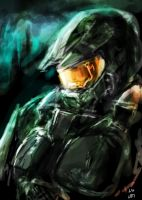 Halo Master chief by THE-LM7
