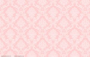 Peach Damask Flock Wallpaper by angeldust