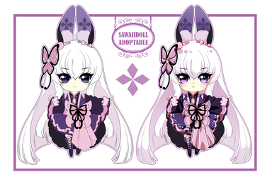 [CLOSED] Adoptable - PuffyPouri Species 11 by SawaiiDoll