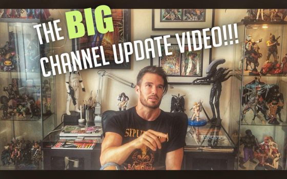 Youtube Channel Update Video UP NOW! by Lovell-Art