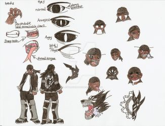 character sheet of B by AstalIchimaru
