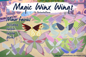 Minor Fairy Magic Winx Wings by Enchantedflower