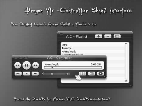 Dragon 1.0 for VLC Controller by zorda75