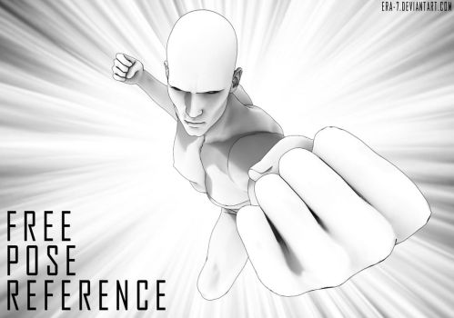 One-Punch-Man: Free Pose Reference by ERA-7S