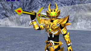 MMD Find - Golden Makai Knight, GARO by Zeltrax987