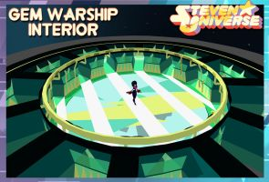 Steven Universe (Map) Gem Warship Interior FOR XPS by ASideOfChidori