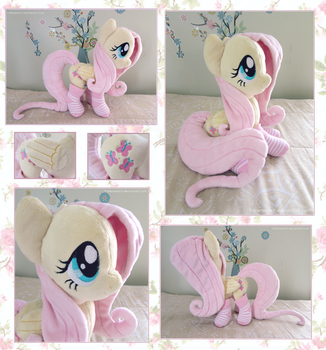 ::My Little Pony Fluttershy Plush With Socks:: by Fallenpeach