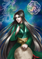 The Jade Dragon of Annam by Galistar07water