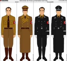 Rudolf Hess's Uniforms by Grand-Lobster-King