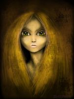 in yellow by AngeLee-Loo