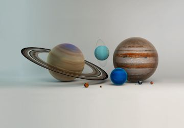 Our Solar System by microbot23