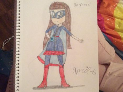 BerrySweet, the Berry Avenger by April-13