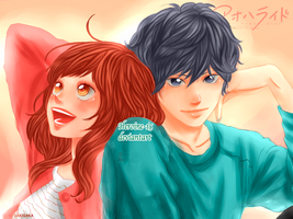 Ao haru ride by Heroine-15