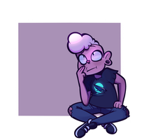 Pink Lars ~Steven Universe by Speckled-Waffle