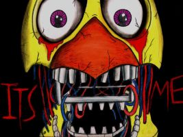 Five Nights At Freddys ITS ME by charcoalman
