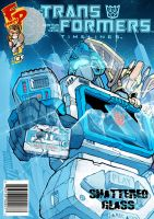 Soundwave Shattered Glass Cover by J-Rayner