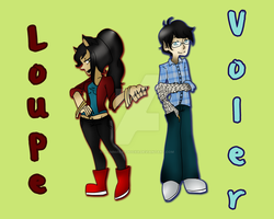 Loupe and Voler by xXimmaeatjooXx
