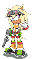 Tanica the Tenrec by Cylent-Nite