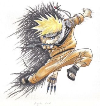 Portrait naruto by sipries