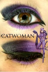 Catwoman Makeup by Steffmiesterx13
