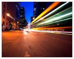Montreal at Night 75 by Pathethic