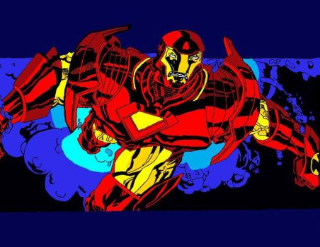 Iron man by Darthchad