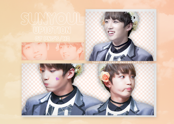 Sunyoul (UP10TION) | PNG PACK #25 by taertificials