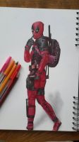 Deadpool by Dimondrawing