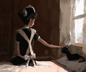 The Maid by GorosArt