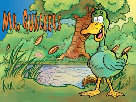 Mr Quackers by kanderson137