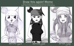 Draw this again - My first anime girl by Gora-Tendo
