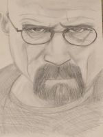 Walter white by bunnyluvable
