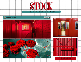 Stock 013 // Red by BEAPANDA