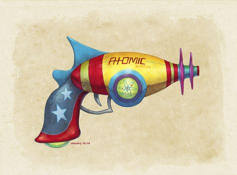 Atomic Raygun color by ChrisChuckry