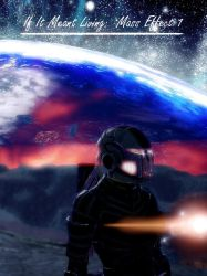 If It Meant Living: Mass Effect 1 - eBook Cover by GSJennsen