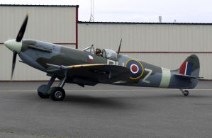Supermarine Spitfire MkVc Taxi by shelbs2