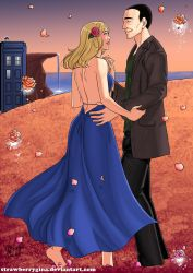 The Doctor Dances on Planet Rose by strawberrygina