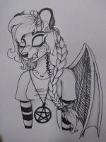 Dhalia once again by Pink-Sanity