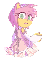 Blooming rose by Sanddy273