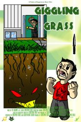 giggling grass movie poster by Crazon
