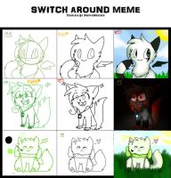 Awitch around meme by alicesstudio