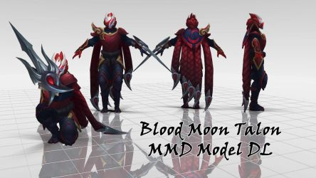 Talon Blood Moon MMD Model by KadajoGameOver