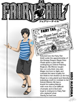 Chase Laec {Fairy Tail Guild Card} by EnergyMageFrea