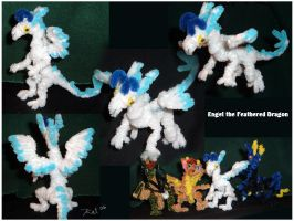 Engel -- Pipecleaners by kalicothekat