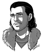 Jon Snow by Otakatt