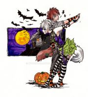 .:halloween tango:. by kyuubifred